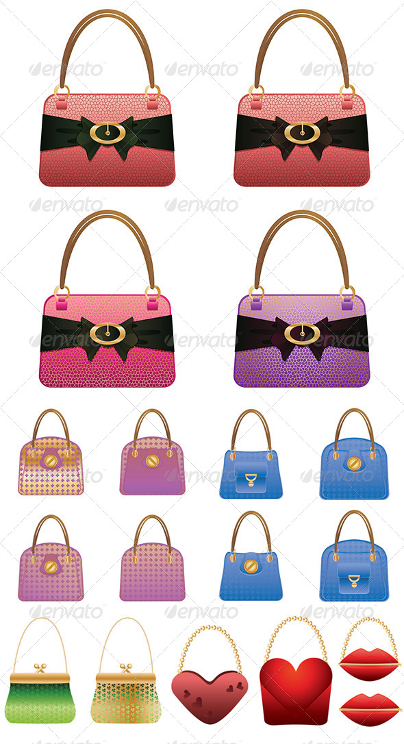 GraphicRiver Fashion Handbag 8589652