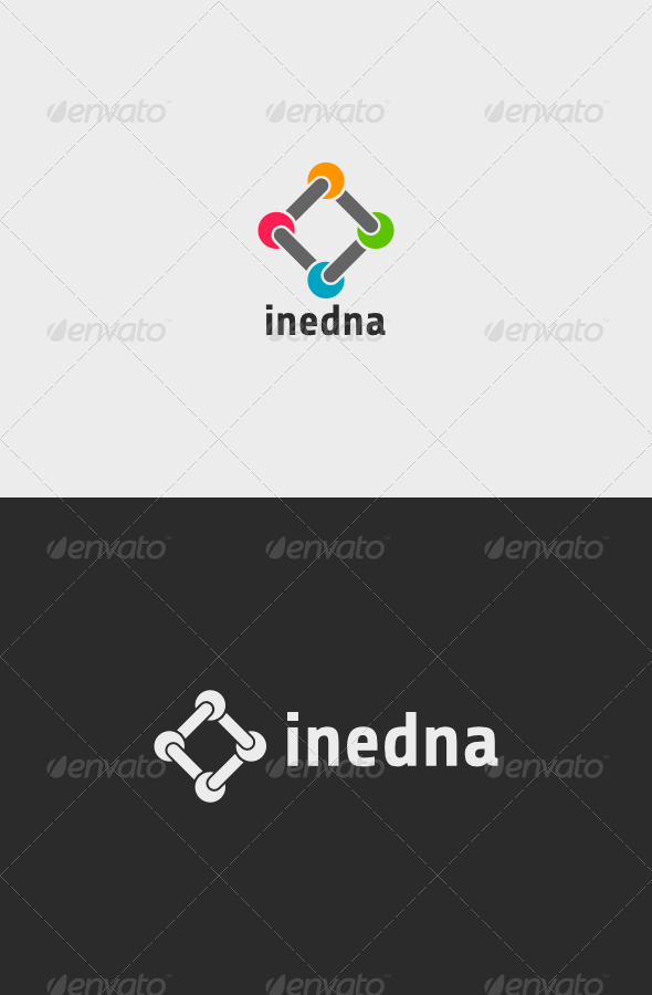 GraphicRiver Inedna Logo 8589658