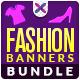 Fashion Sale Banner Bundle - 4 sets - GraphicRiver Item for Sale