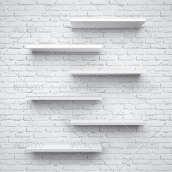 GraphicRiver Shelves 8589884