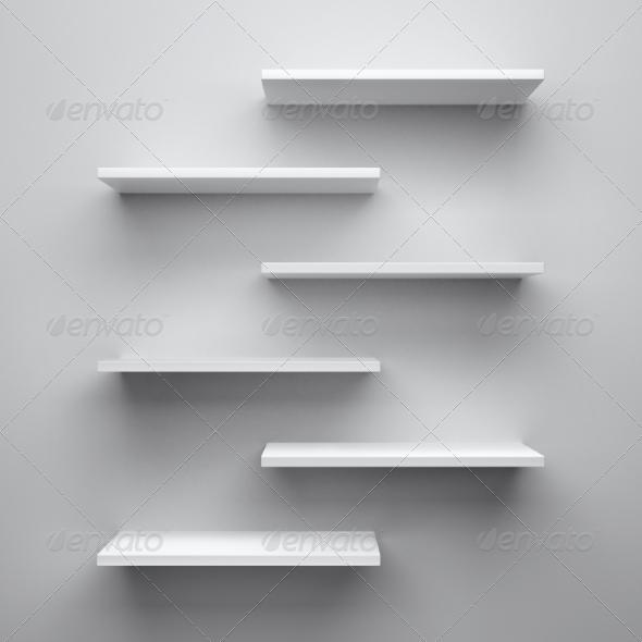 GraphicRiver Shelves 8589905