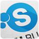 Social Bubble Logo Template - GraphicRiver Item for Sale