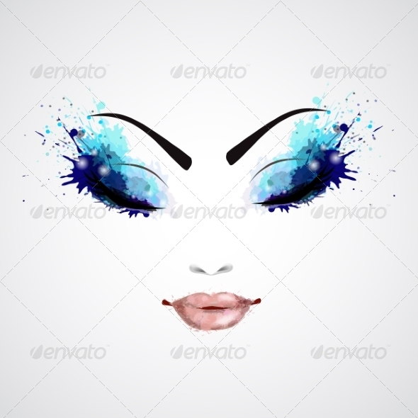 GraphicRiver Female Face 8590073