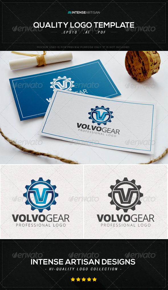 GraphicRiver Volvo Gear Logo Template 8590153
