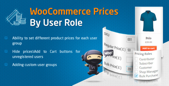 CodeCanyon WooCommerce Prices By User Role 8562616