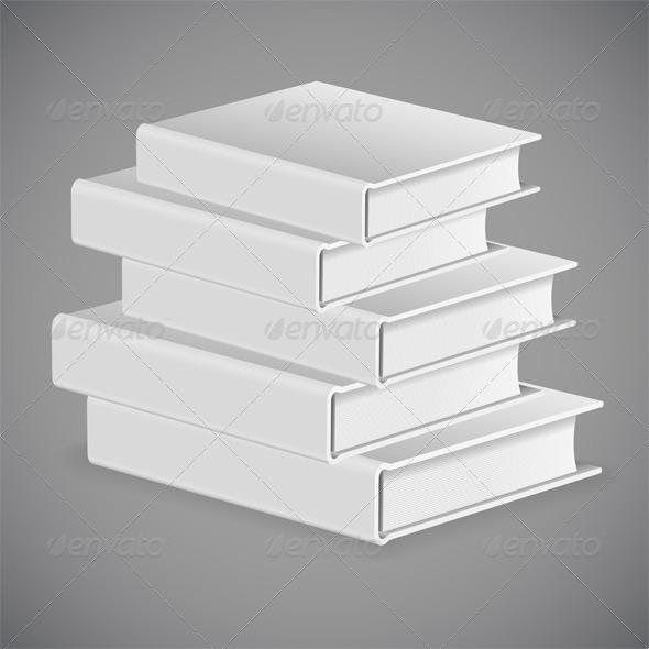 GraphicRiver Stack of Books 8591020