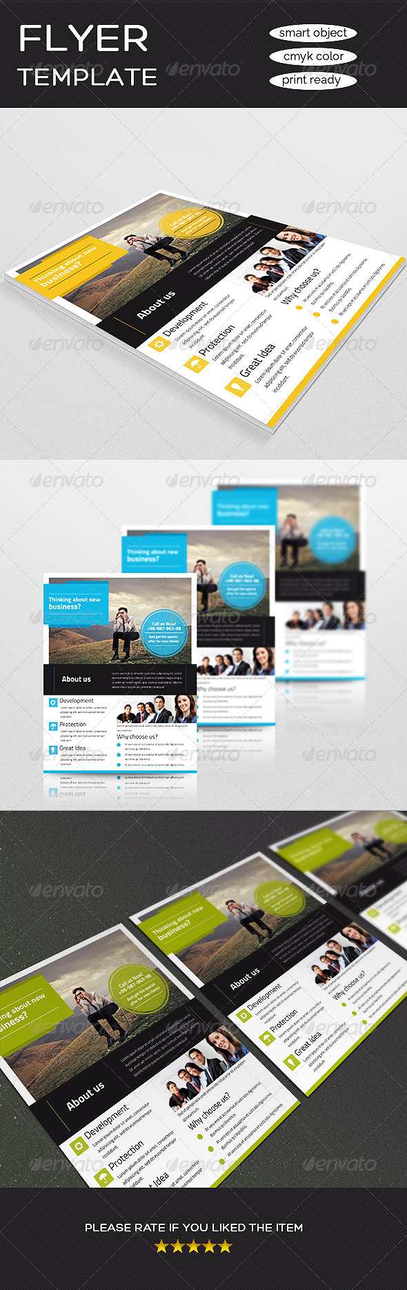 GraphicRiver Corporate Business Flyer 8591065