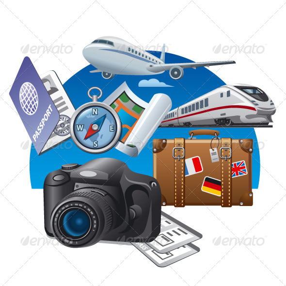 GraphicRiver Travel Concept Illustration 8591126