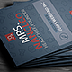 Corporate & Personal - Pro Business Card 001 - GraphicRiver Item for Sale