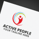 Active People Logo - GraphicRiver Item for Sale