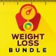 Weight Loss Banner Bundle - 3 sets - GraphicRiver Item for Sale