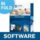 IT and Software Bifold / Halffold Brochure - GraphicRiver Item for Sale