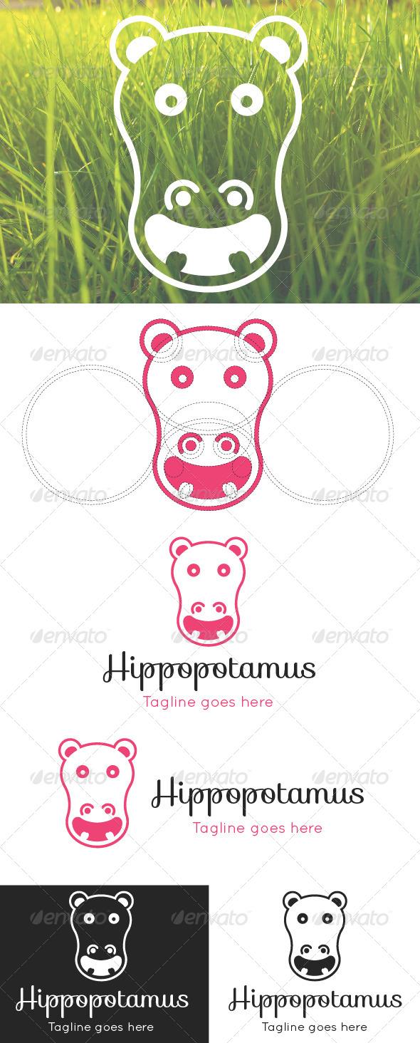 GraphicRiver Hippopotamus Logo Template 8586750