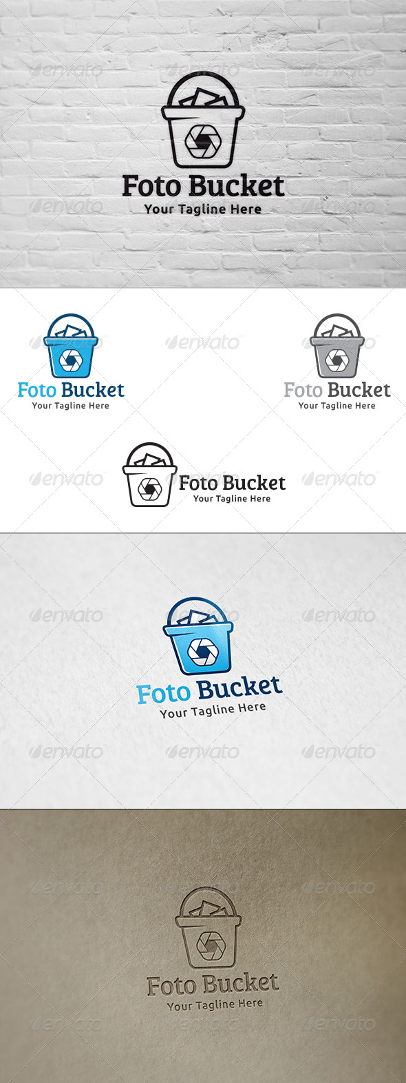 GraphicRiver Foto Bucket Logo Template 8591929
