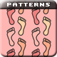 Tiny Feet Patterns - GraphicRiver Item for Sale