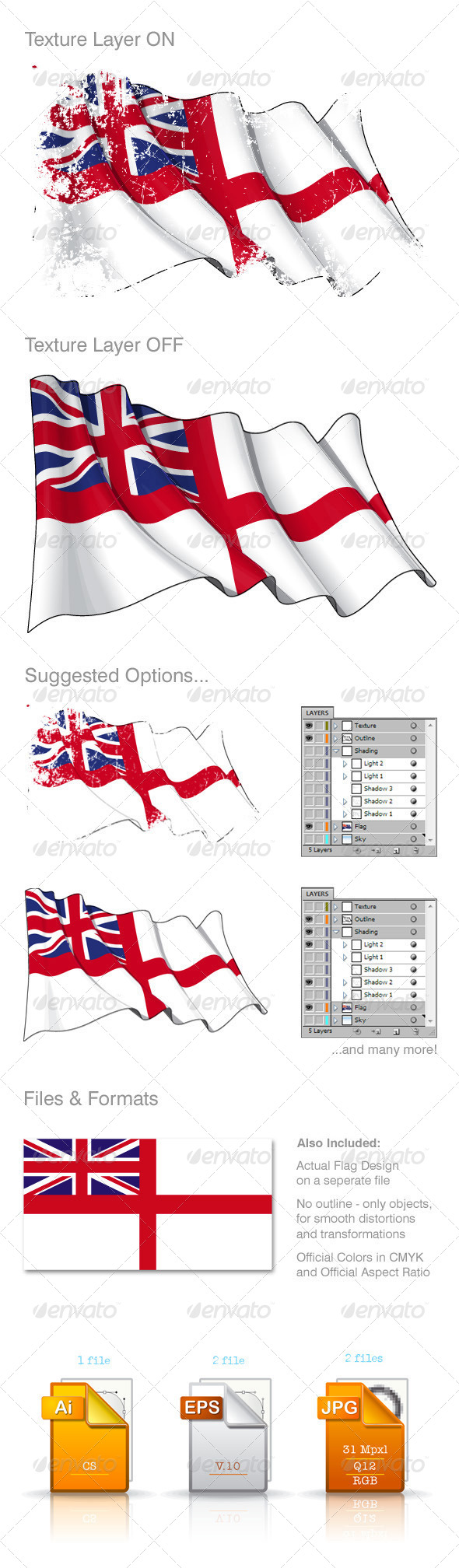 GraphicRiver UK Naval Flag 8592222