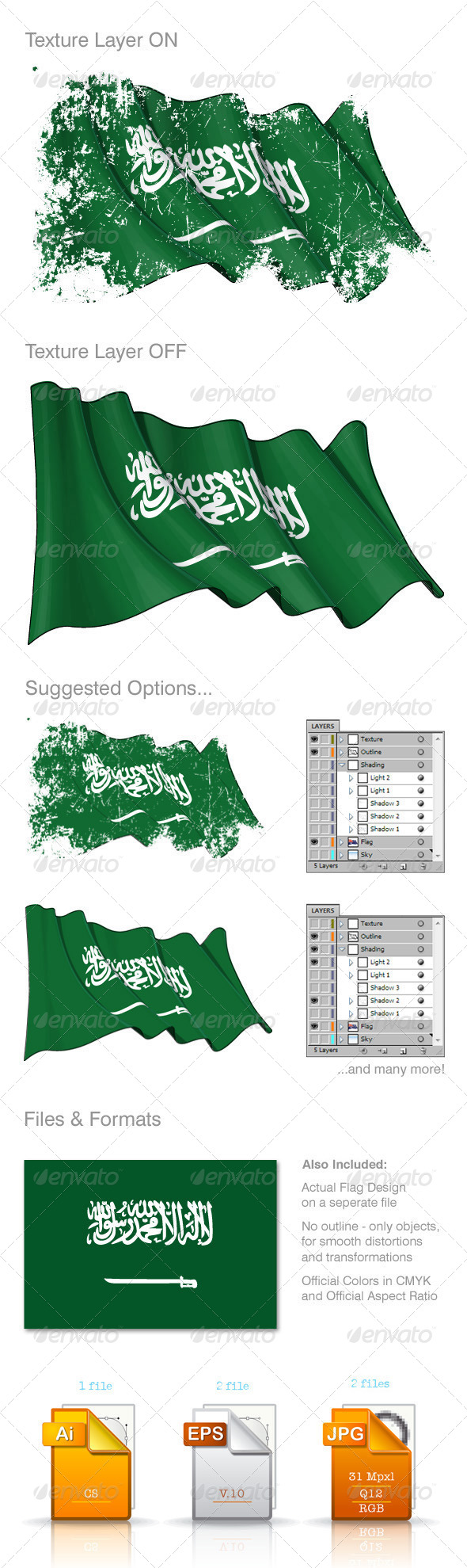 GraphicRiver Saudi Arabia Flag 8592271