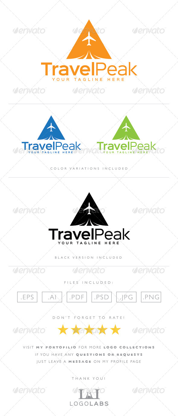 GraphicRiver Travel Logo 8592368