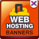 Web Hosting Promotional Banners - GraphicRiver Item for Sale