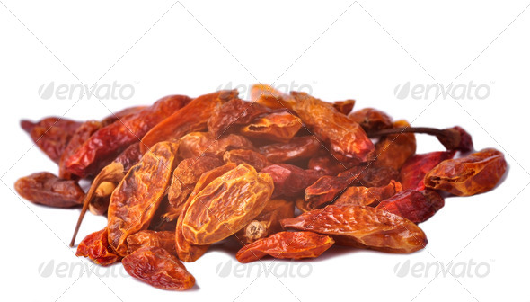 Dried Chilli - Stock Photo - Images