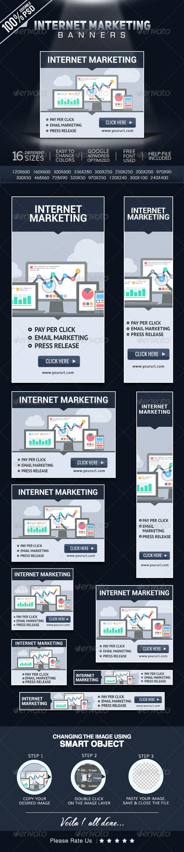 GraphicRiver Online Marketing Banners 8592767