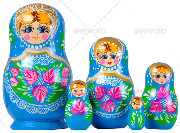 Matrioska family - Stock Photo - Images