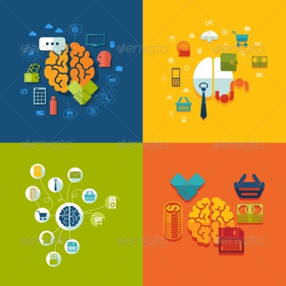 GraphicRiver Set of Business Icons 8594994