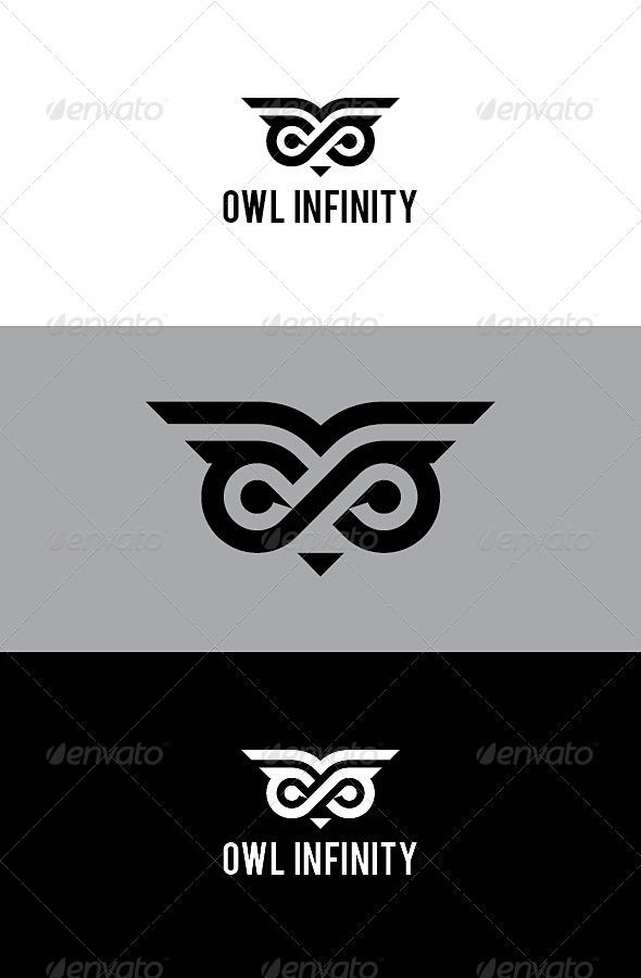 GraphicRiver Owl Infinity Logo 8595653
