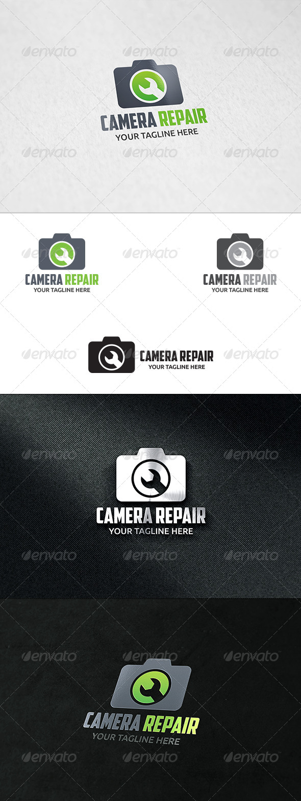 GraphicRiver Camera Repair Logo Template 8595669
