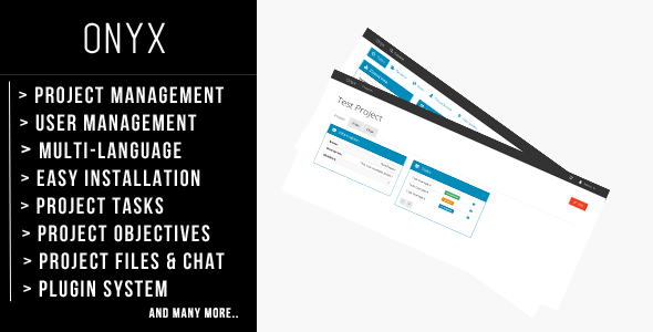 CodeCanyon Onyx Powerful Project Management 8538289