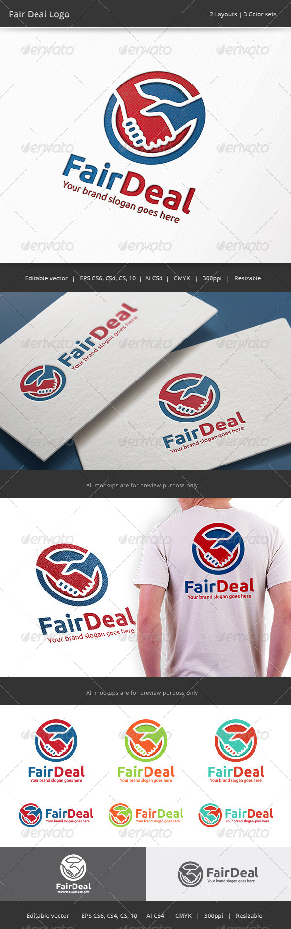 GraphicRiver Fair Deal Logo 8595703