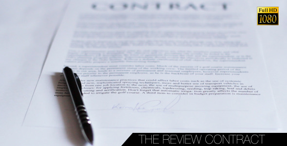The Review Contract
