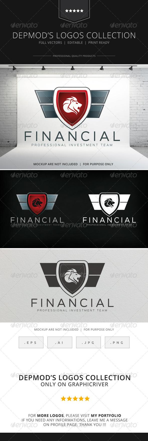 GraphicRiver Financial Logo 8596973