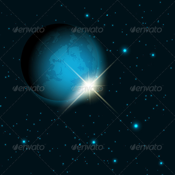 GraphicRiver Space Themed Background 8597079