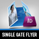 Futuristic Gate Fold Flyer - GraphicRiver Item for Sale
