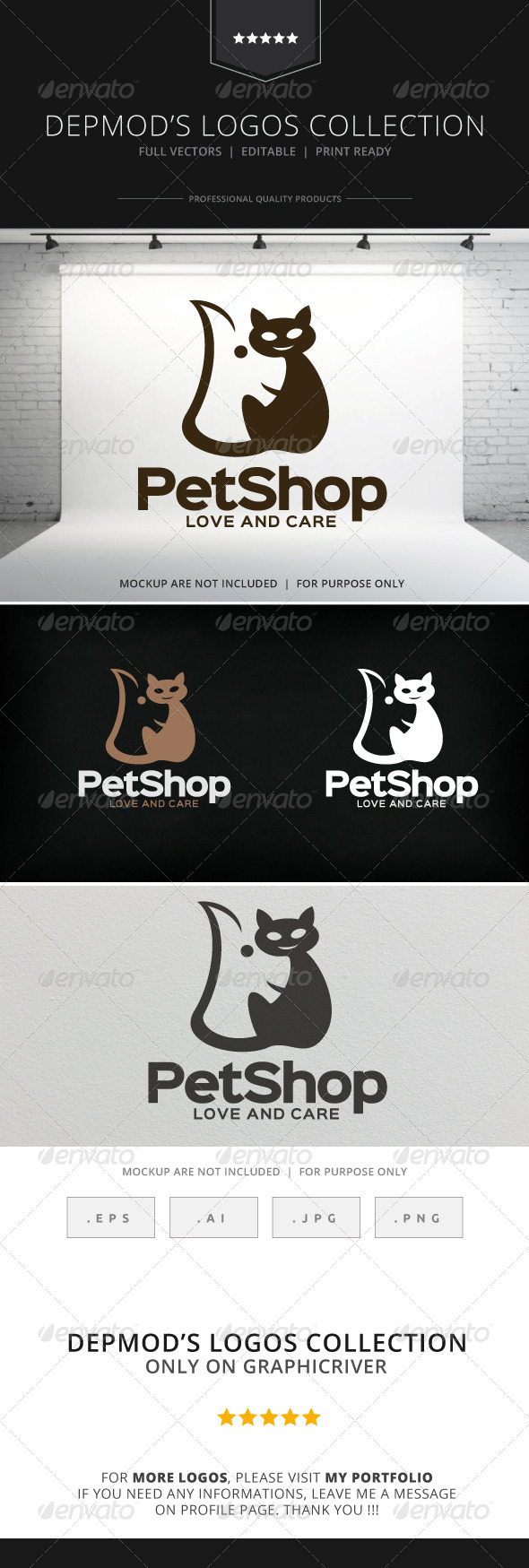 GraphicRiver Pet Shop Logo V.04 8597289