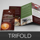 Coffee Shop Restaurant Trifold Brochure Template  - GraphicRiver Item for Sale