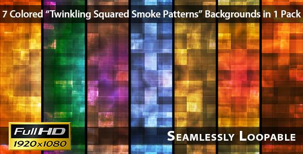 Twinkling Squared Smoke Patterns Pack 01