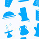 Seamless Background for Kitchenware - GraphicRiver Item for Sale
