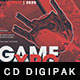Game Expo Digipak CD Artwork Template - GraphicRiver Item for Sale