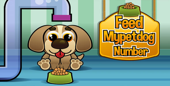 CodeCanyon Feed Mypetdog Number Educational HTML5 Game 8537468