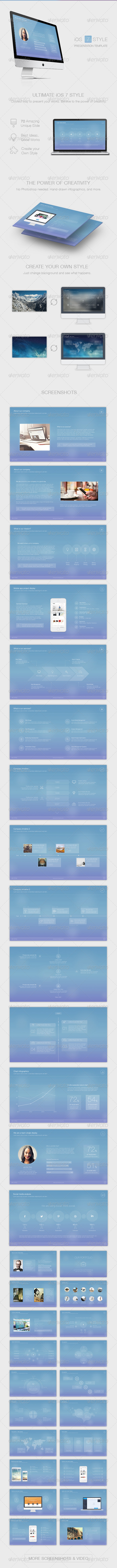 GraphicRiver 7 Style Powerpoint Template 8597863