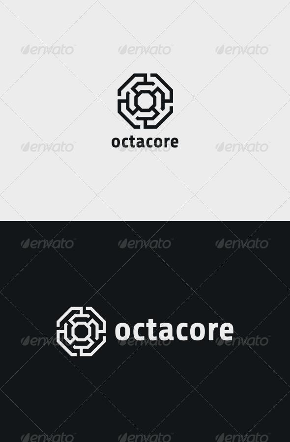 GraphicRiver Octacore Logo 8598070