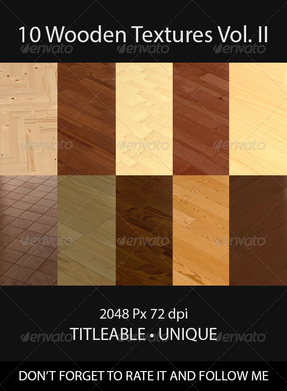 GraphicRiver 10 Wooden Floor Tileable Texture Vol II 8598086