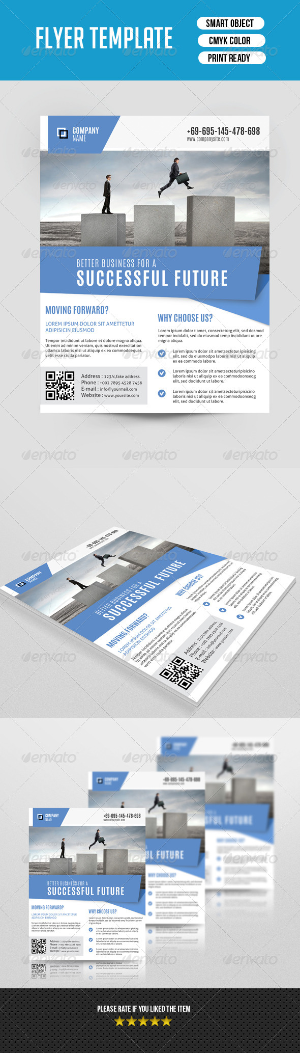 GraphicRiver Corporate Flyer Template-V112 8598617