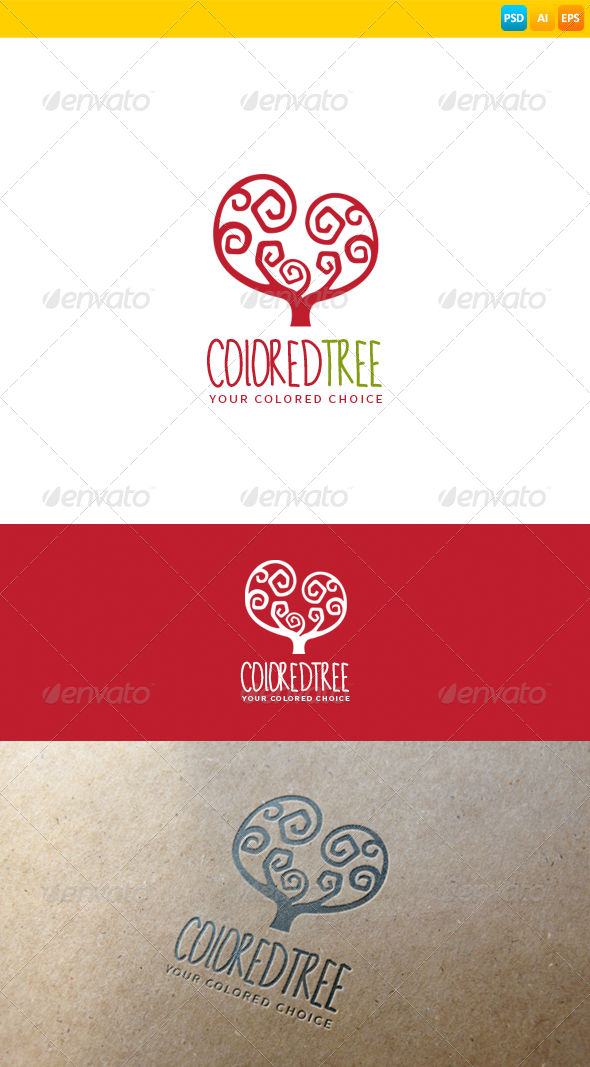 GraphicRiver Tree Logo 8600088