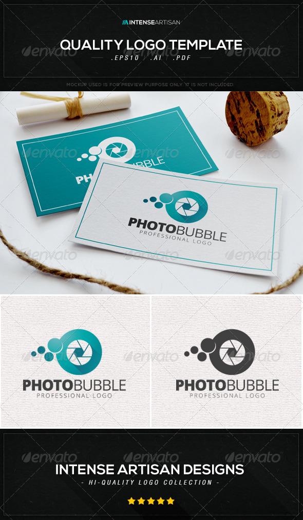GraphicRiver Photo Bubble Logo Template 8601870