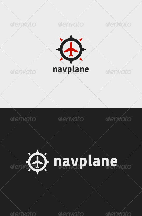 GraphicRiver Navigation Plane Logo 8603076