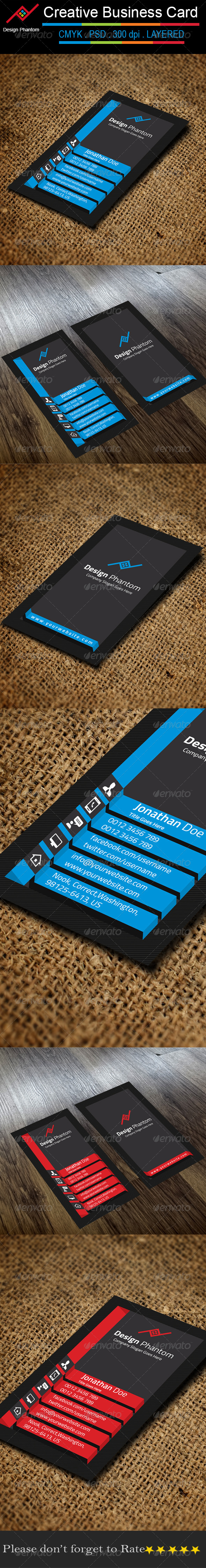 GraphicRiver Creative Business Card 8603202
