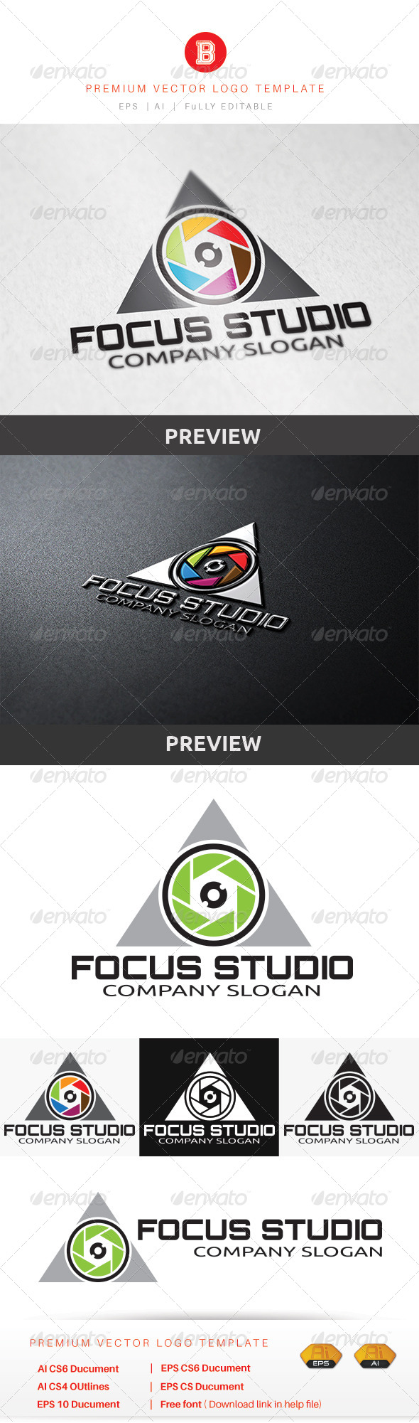 GraphicRiver Focus Studio 8603223